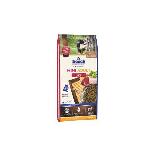 Bosch Adult Mini Lamm & Reis Hundefutter 15 KG  + 3  KG gratis
