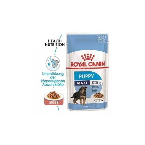 Royal Canin Maxi Puppy Nassfutter 2 x (10 x 140g)