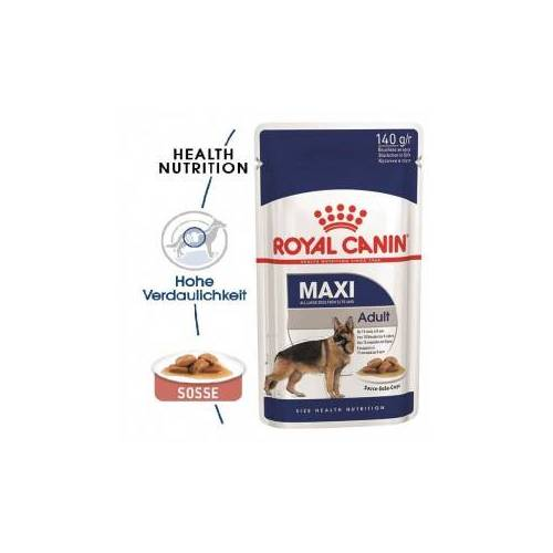 Royal Canin Maxi Adult Nassfutter 2 x (10 x 140g)