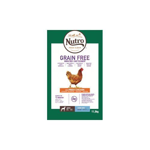 Nutro Grain Free Adult Large Huhn Hundefutter 11,5 kg