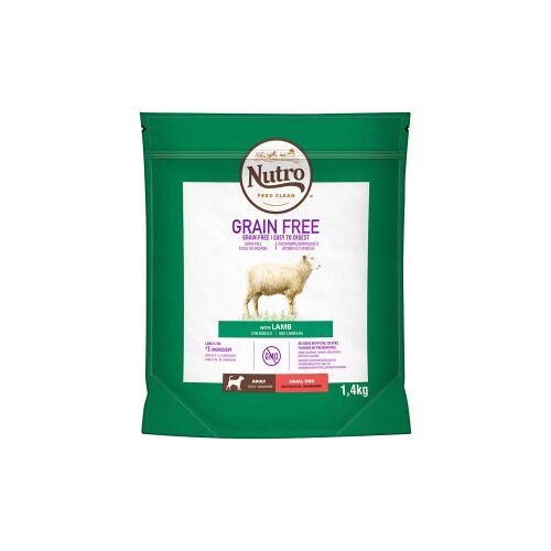 Nutro Grain Free Adult Small Lamm Hundefutter 1,4 kg
