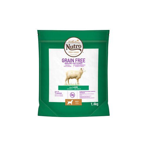 Nutro Grain Free Puppy Medium Lamm Hundefutter 2 x 1.4 kg