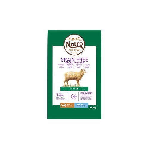 Nutro Grain Free Puppy Large Lamm Hundefutter 2 x 11,5 kg