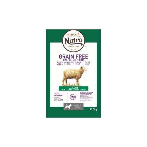 Nutro Grain Free Senior Lamm Hundefutter 11,5 kg