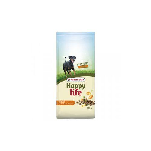 Happy Life Adult Rind Hundefutter 15 kg