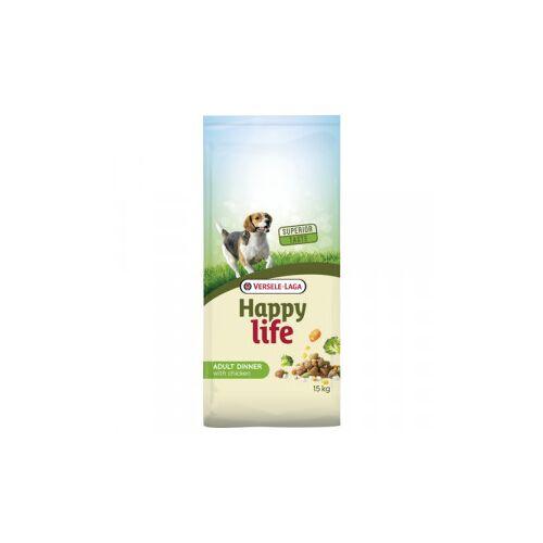 Happy Life Adult Chicken Dinner Hundefutter 3 kg AUSVERKAUF