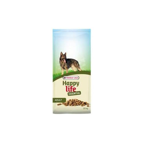 Happy Life Essential Adult Hundefutter 20 + 3 kg