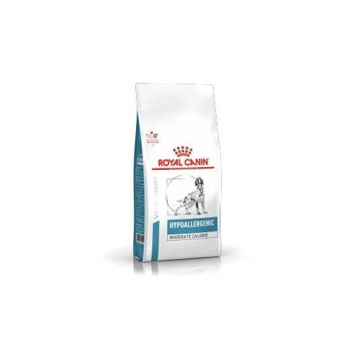 Royal Canin Veterinary Diet Royal Canin Hypoallergenic Moderate Calorie Hundefutter 14 kg