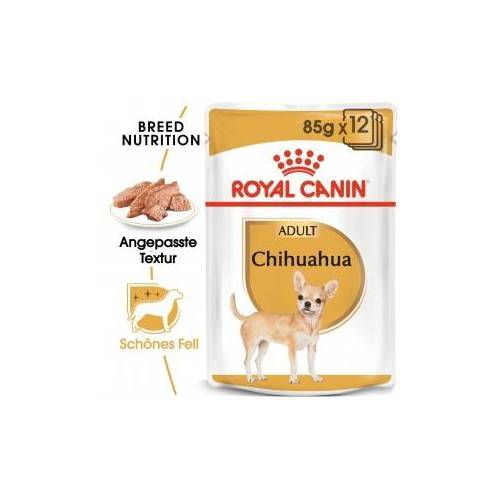 Royal Canin Chihuahua Adult Nassfutter 12 x 85 Gramm