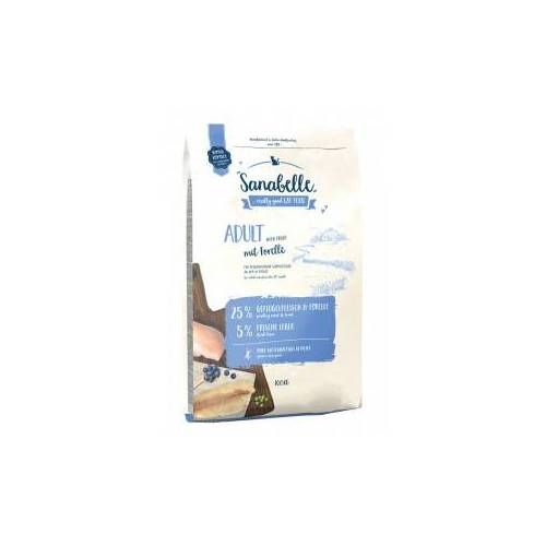 Sanabelle Adult Katzenfutter mit Forelle 10 kg + 2 kg gratis