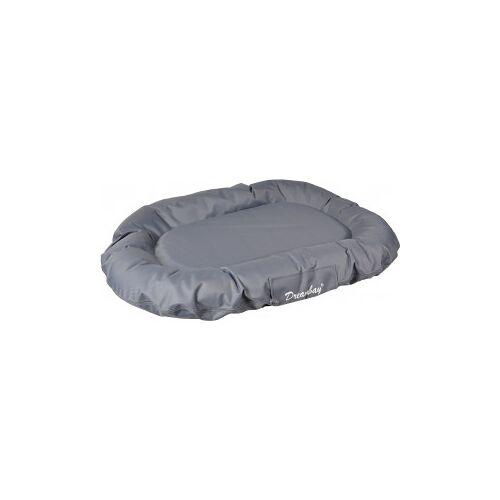 Brekz Hundekissen Dreambay Grau und Rund 80 x 60 cm