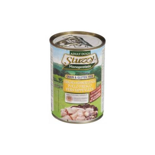Stuzzzy Stuzzy Monoprotein Huhn nasses Hundefutter 400 gr. 1 doos ( 6 x 400 gr.)