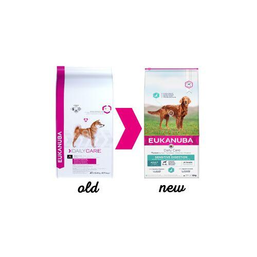 EukanubaDaily Care Sensitive Digestion Hundefutter 2,5 kg AUSVERKAUF