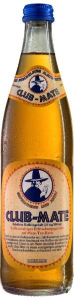 Brauerei Loscher GmbH & Co. KG Club-Mate Koffeinhaltiges Erfrischungsgetränk