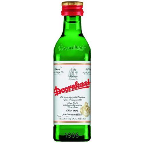 Doornkaat AG Doornkaat 38 % vol. Kleinflasche Miniatur-Flasche 24 x 4cl
