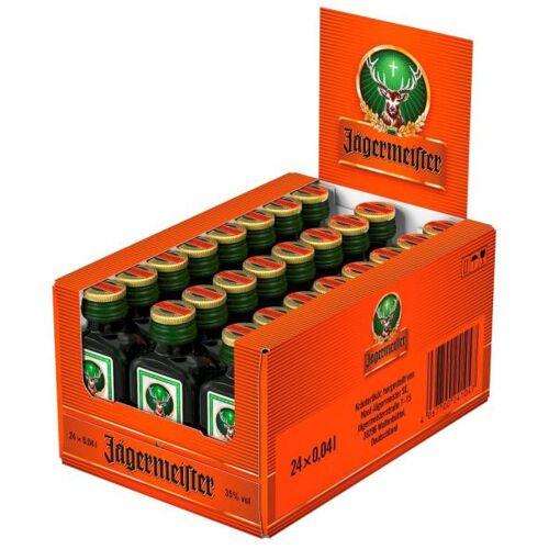Mast-Jägermeister SE Jägermeister 35 % vol. Miniaturen 24 x 4cl