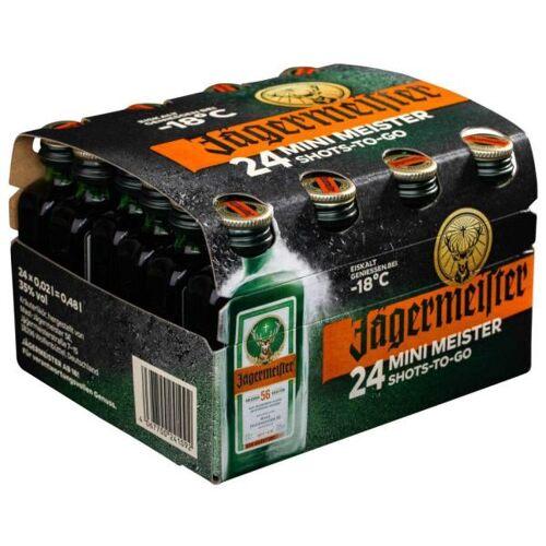 Mast-Jägermeister SE Jägermeister 35 % vol. Kleinflaschen 24 x 2cl
