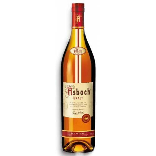 Asbach Uralt 36 % vol. Weinbrand Literflasche