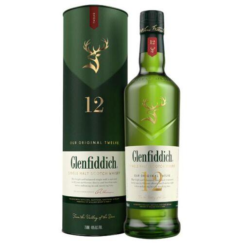 William Grant & Sons Ltd Glenfiddich Single Malt Scotch Whisky 40 % vol. 12-jährig