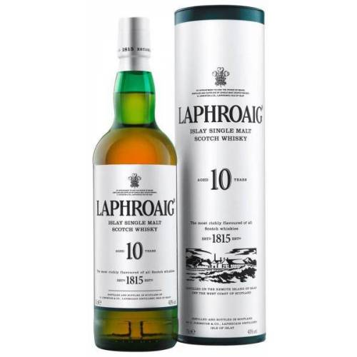 Laphroaig Distillery Laphroaig Single Malt Islay Whisky 40 % vol. 10 years old