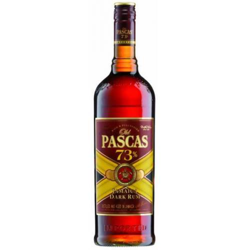 Old Pascas Dark Jamaica Rum 73 % vol.