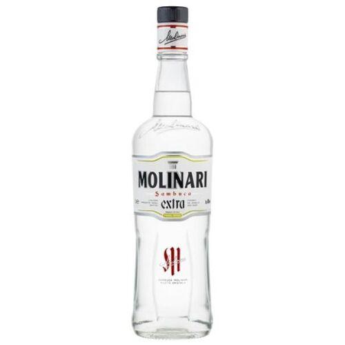 Molinari S.p.A. Sambuca Molinari extra Liqueur 40 % vol. Literflasche