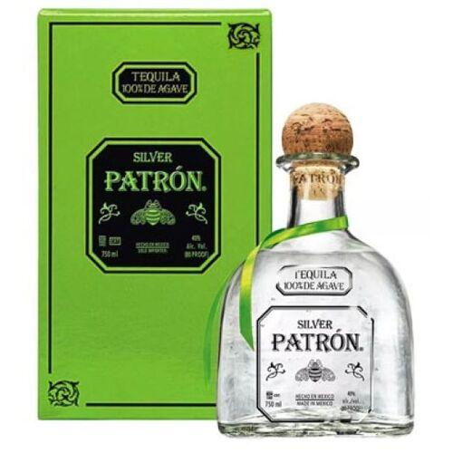 Patron Spirits Mexico Tequila Patron Silver 40 % vol.