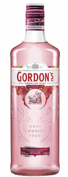 Alexander Gordon & Co. Gordons Premium Pink Distilled Gin 37,5 % vol.