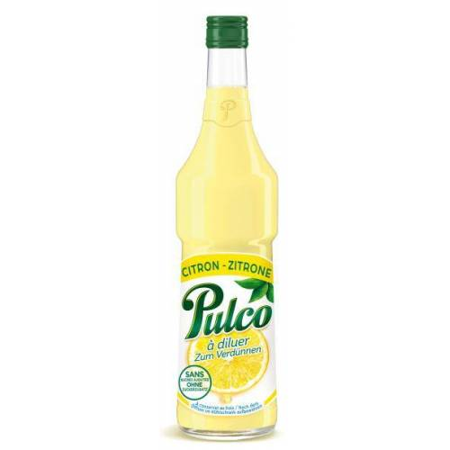 Pulco Citron Zitronenspezialität Konzentrat 1:6