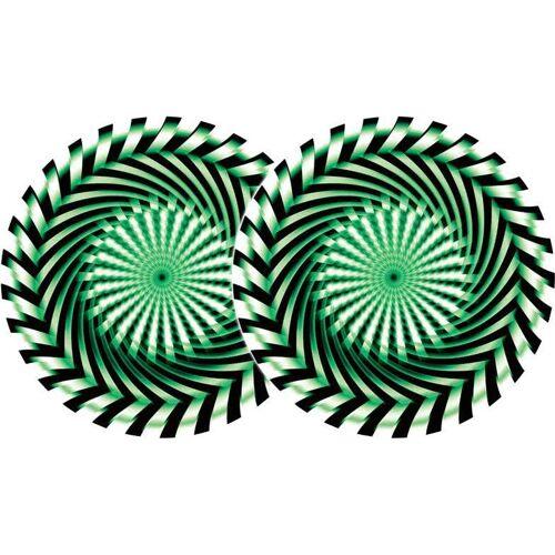 Zomo 2x Zomo Slipmats - Säge grün