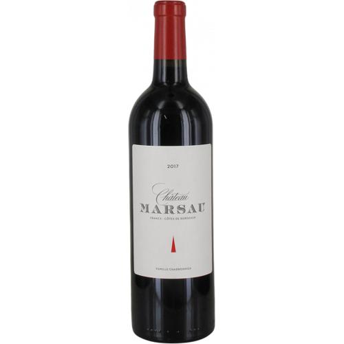 Château Marsau 2017 Château Marsau - Rotwein