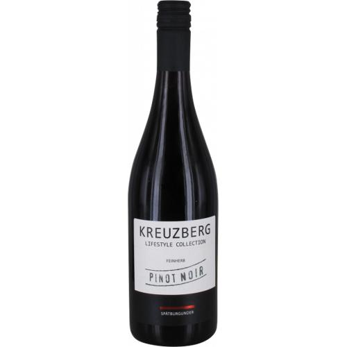 H.J. Kreuzberg 2018 Pinot Noir Feinherb H.J. Kreuzberg - Rotwein