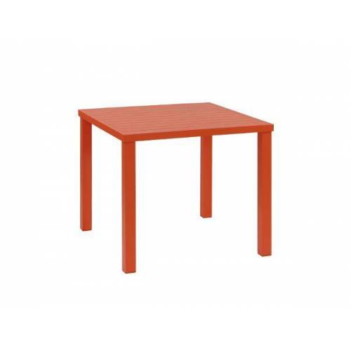 inko Gartenmöbel Tisch Ronda Alu orange - inko Gartenmöbel