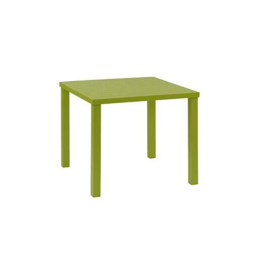 inko Gartenmöbel Tisch Ronda Alu grün - inko Gartenmöbel