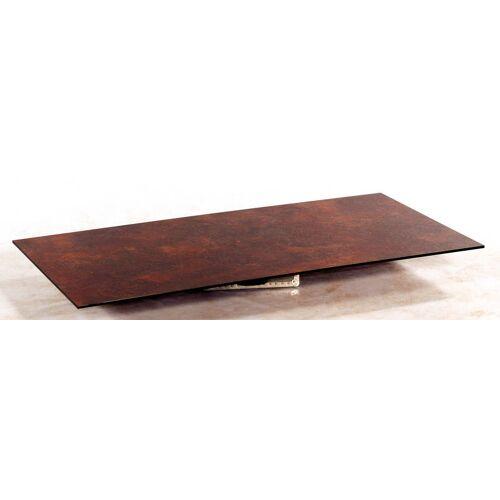 SonnenPartner Tischplatte Compact 160x90 cm HPL Rostoptik