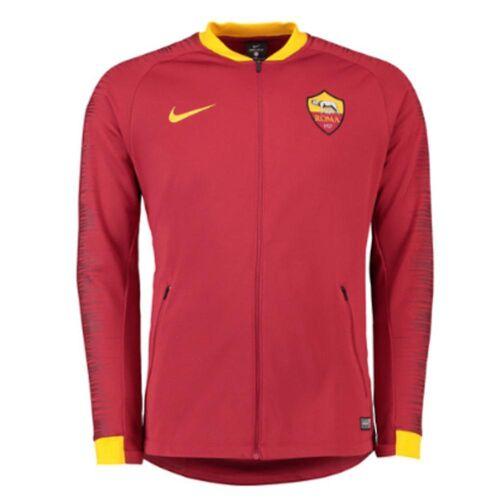 Nike 2018-2019 AS Roma Nike Anthem Jacke (Team rot)