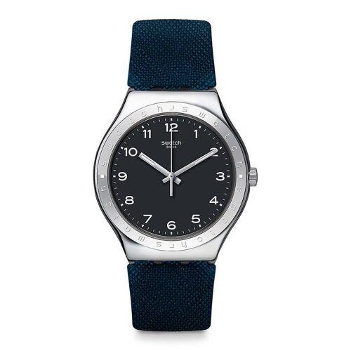 Swatch TINTENFASS Rubber Unisex Uhr YWS102