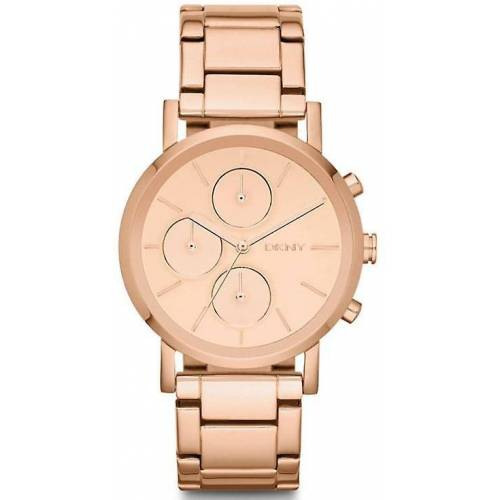 DKNY Damenuhr Rose Gold-Ton Chronograph NY8862