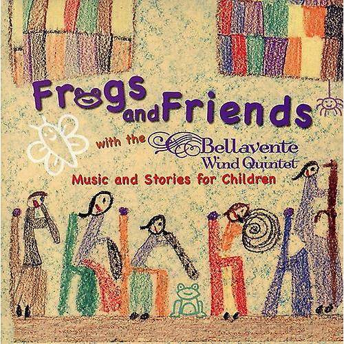 CD BABY.COM/INDYS Bellavente Wind Quintet - Frogs and Friends [CD] ...