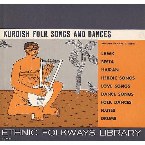 FOLKWAYS RECORDS Kurdische Folk Songs & Tänze - kurdische Folk Song...