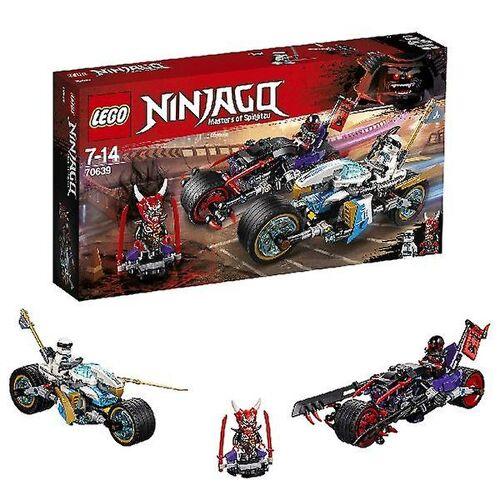 Lego Ninjago 70639 street race of the Sangenjaguar