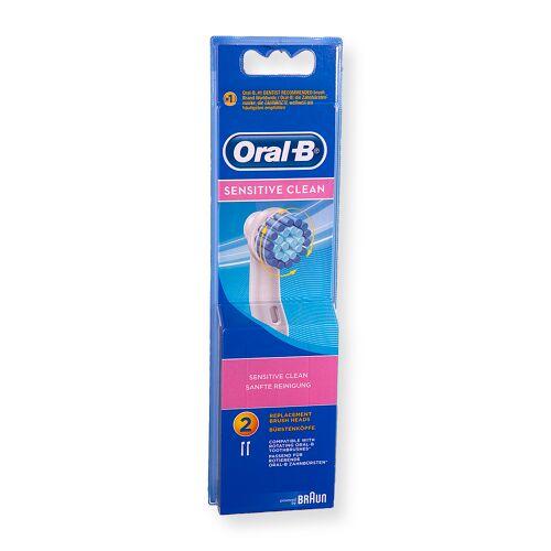 Braun OralB Bürstenaufsätze-Set (EB 17-2 extra soft) für Zahnbürste 64711706, EB17-2S