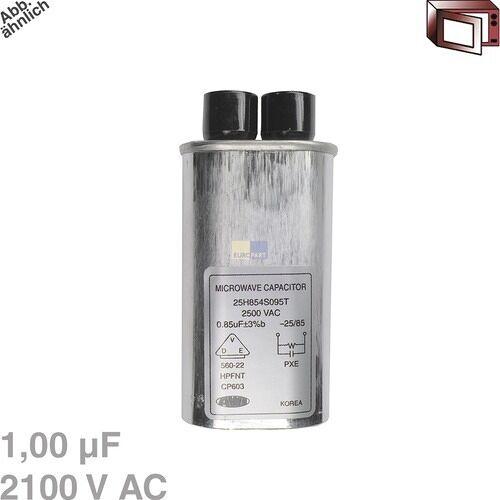 Universeel, Moulinex Kondensator 1,00µF 2100VAC für Mikrowelle 426004