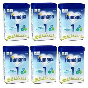 HUMANA [Zestaw] $  Humana 1 (myHumanaPack), mleko początkowe od urodzenia, 800g - Długi termin ważności!