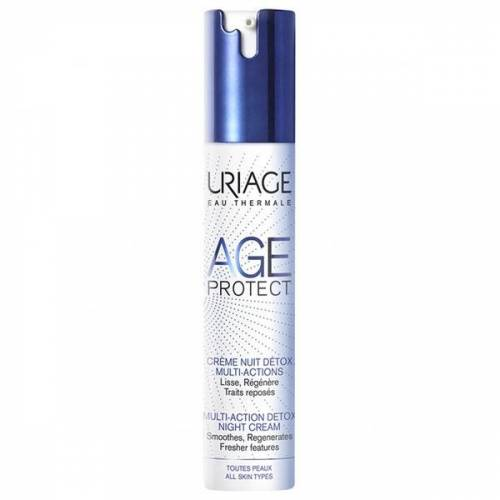 Uriage, Age Protect, entschlackende Nachtcreme, 40ml