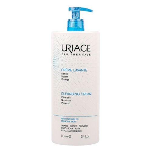 Uriage, Creme Lavante, Gesichts- und Körperwaschcreme, 1000ml