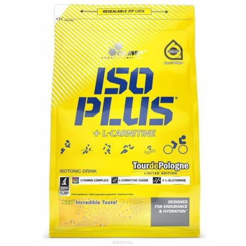 OLIMP SPORT Olimp, ISO Plus Pulver orange, 1505 g
