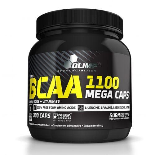 OLIMP SPORT Olimp, Mega Caps, 1100 mg BCAA, 300 Kapseln