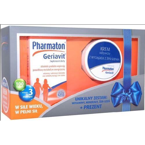 BOEHRINGER INGELHEIM Pharmatongeriavit Promotion Set, 100 Weichkapseln + Pflegende Ginsengcreme