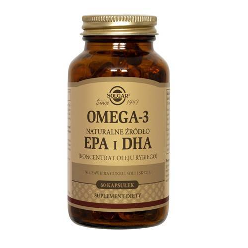 Solgar, Omega 3, 60 Kapseln